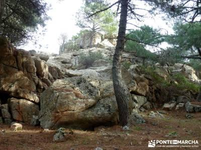 Pinares, Riscos y Atalayas; escapadas madrid sierra; visitas alrededor de madrid